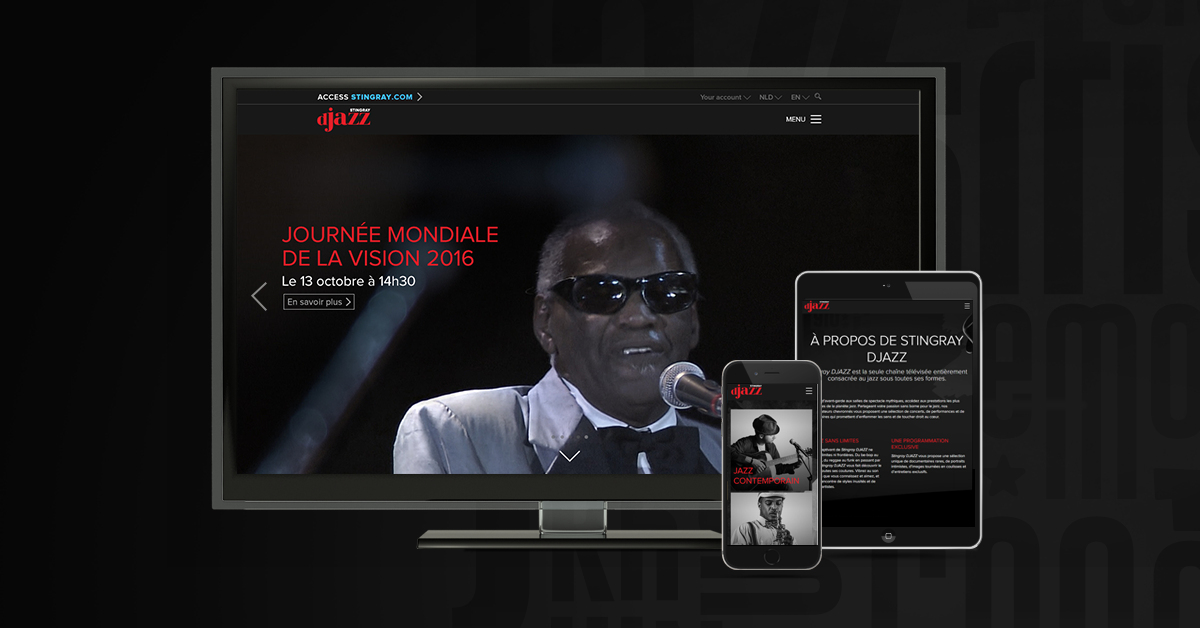 Le nouveau site web de Stingray DJAZZ