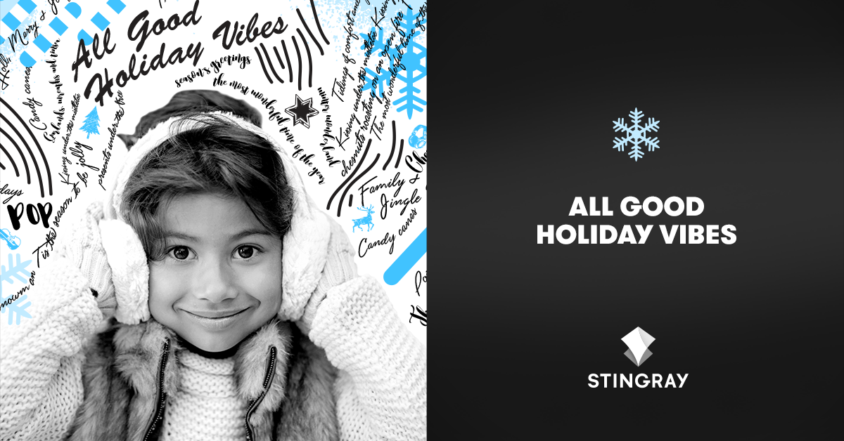 Stingray unwraps its largest holiday music offering ever!