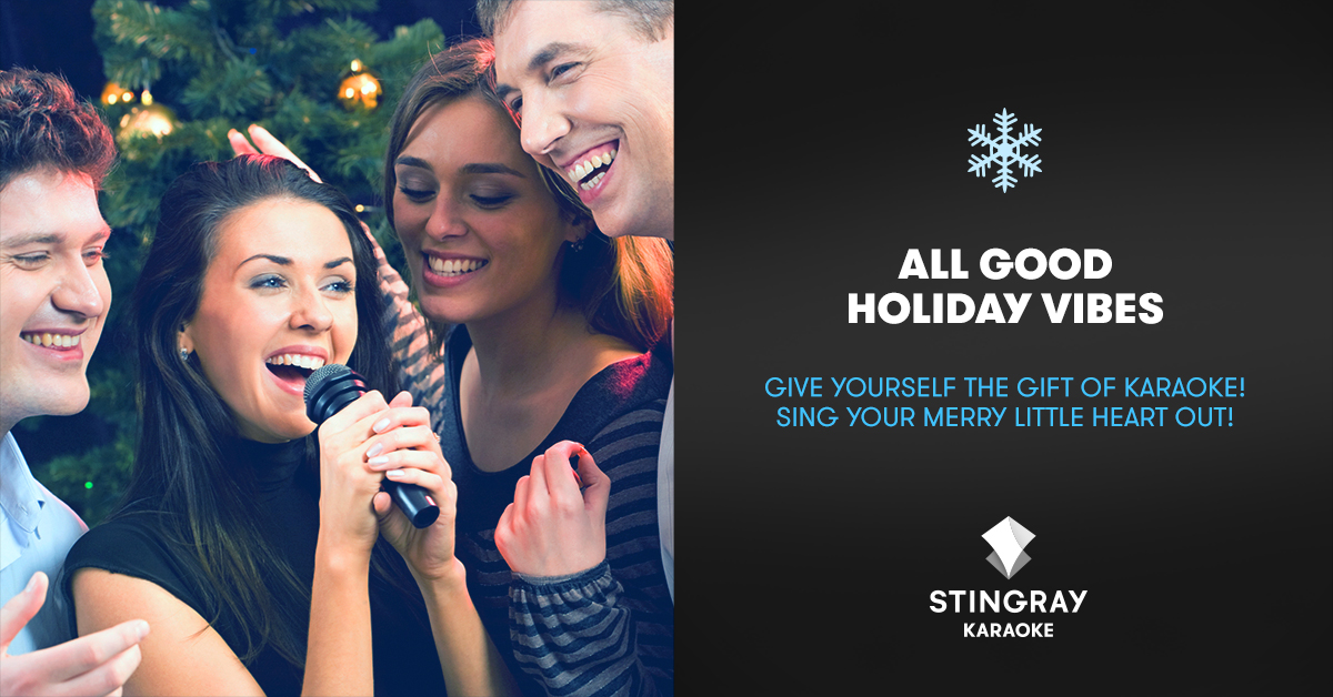 Stingray Karaoke: Sing Your Merry Little Heart Out
