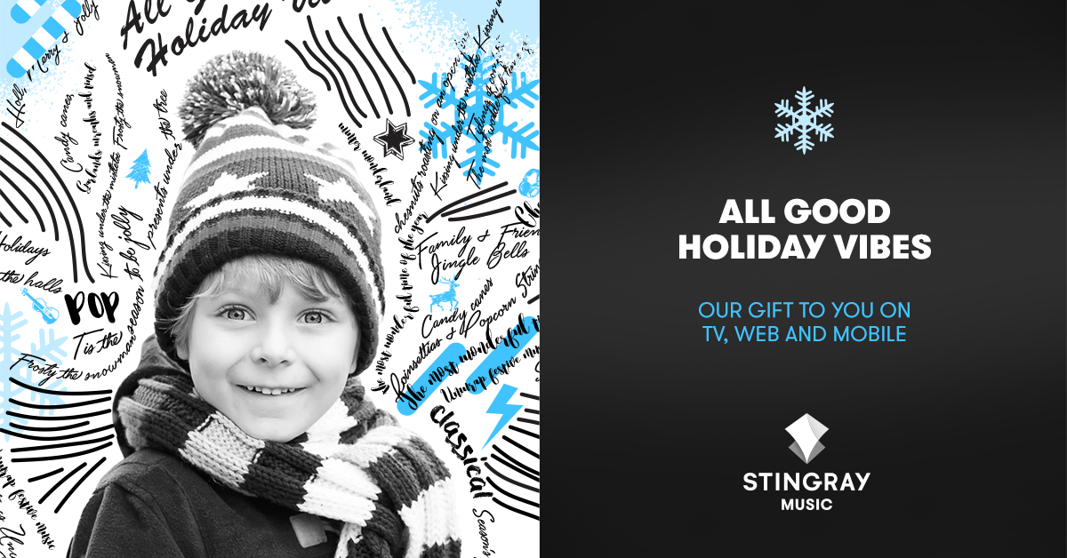 Stingray Music Makes the Season Very Merry